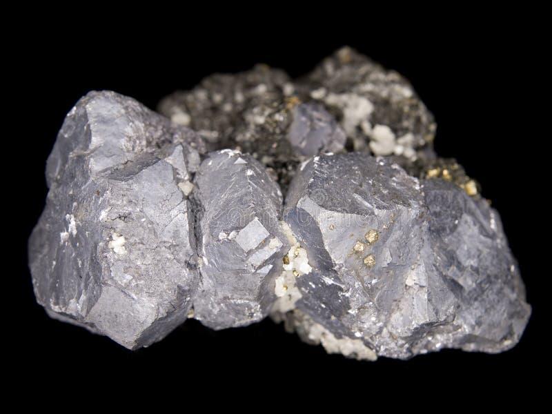Download Galena crystals stock image. Image of mining, plumbum - 14466437