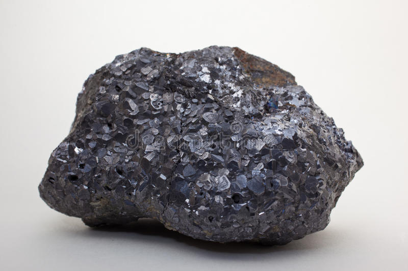 Download Galena, Galenite stock photo. Image of aggregate, geology - 27332992