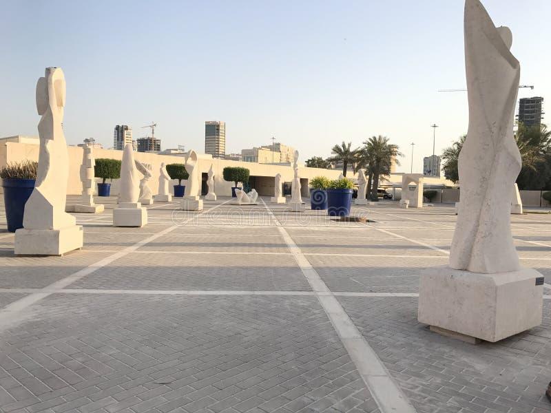 Galería artificial en Bahrein fotos de archivo libres de regalías