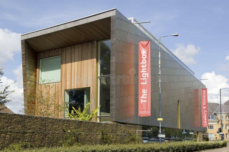 Galería De Arte De Lightbox, Woking Foto editorial