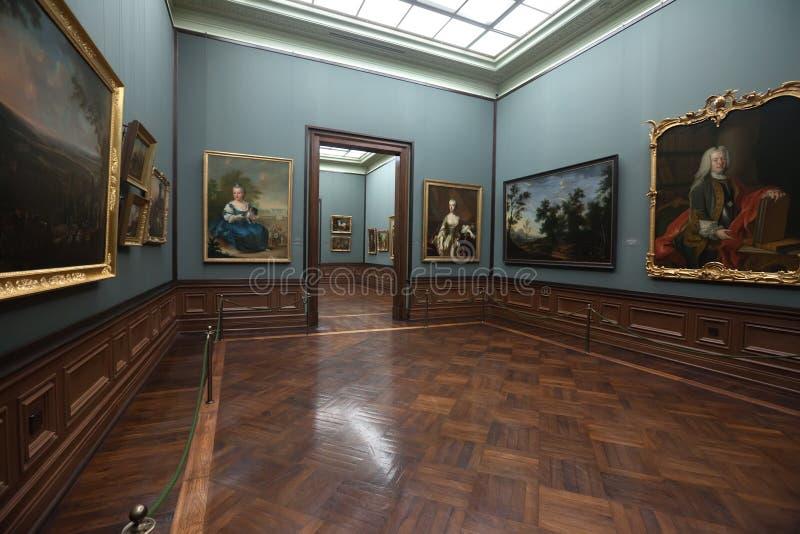 Galería de cuadro de los viejos maestros en Dresden