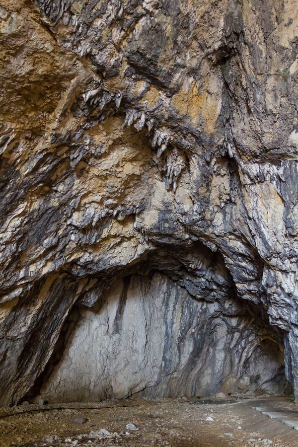 Galería de la cueva imagenes de archivo