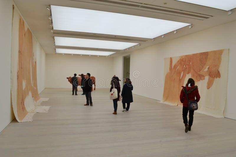 Galería de Saatchi del arte contemporáneo fotografía de archivo