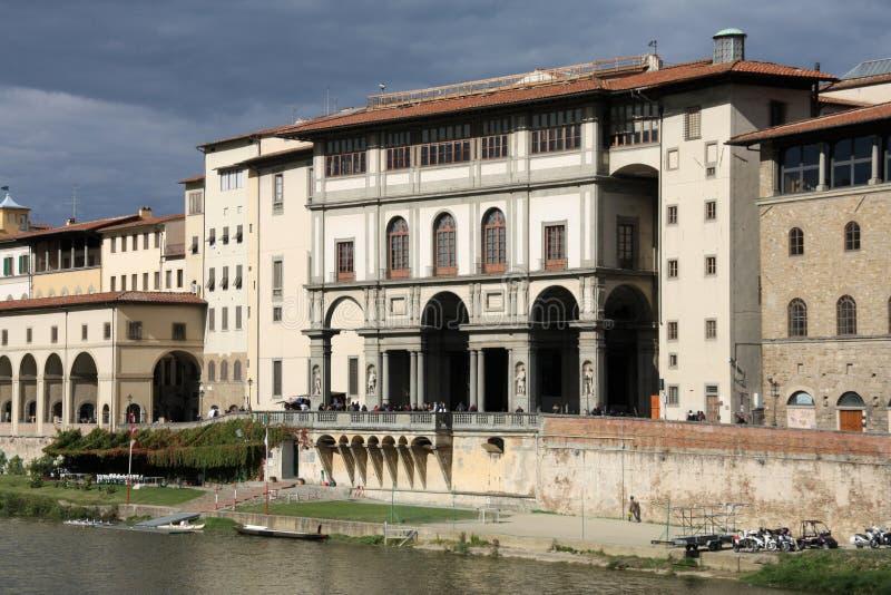 Galería de Uffizi, Florencia foto de archivo