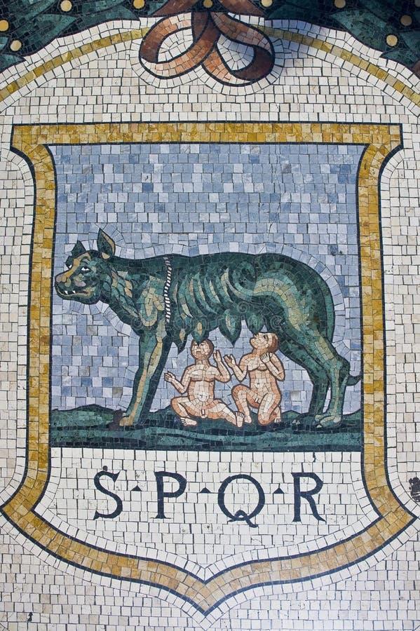 Galería de Vittorio Manuel imagen de archivo