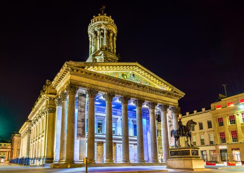 Galería del arte moderno en Glasgow imagenes de archivo