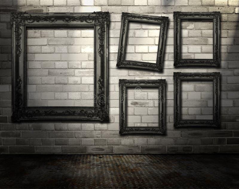 Galería urbana imagen de archivo libre de regalías