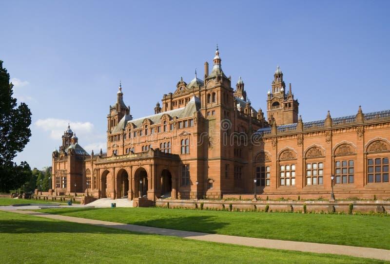 Galerías de arte de Glasgow imagen de archivo libre de regalías