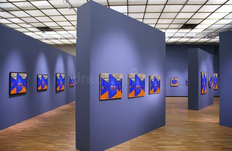Galeria de arte 5. fotos de stock royalty free