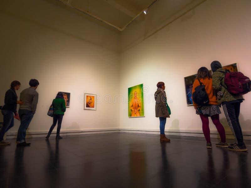 Galeria de arte foto de stock royalty free