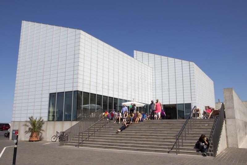 A galeria de arte de Turner Contemporary foto de stock