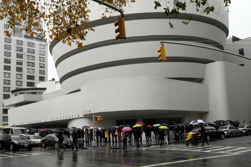 Galeria de Guggenheim foto de stock royalty free