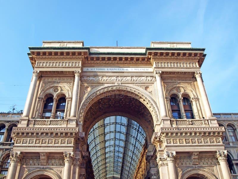 Galeria de Milão foto de stock royalty free