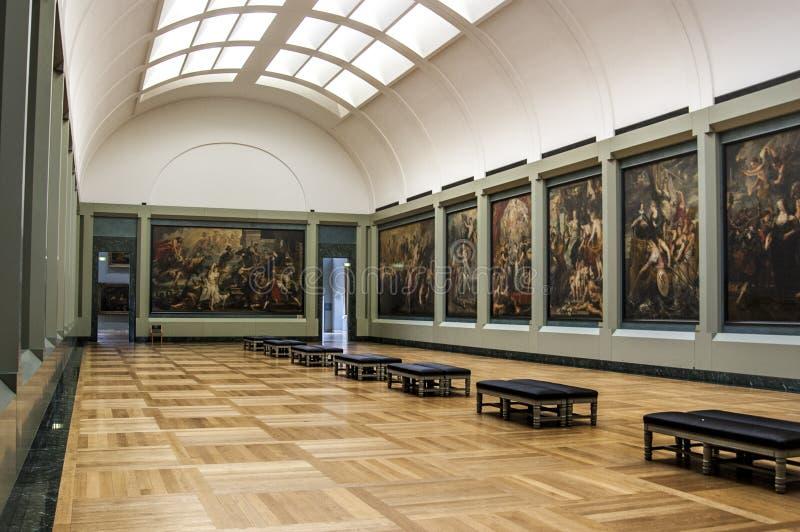 A galeria de Rubens fotos de stock royalty free