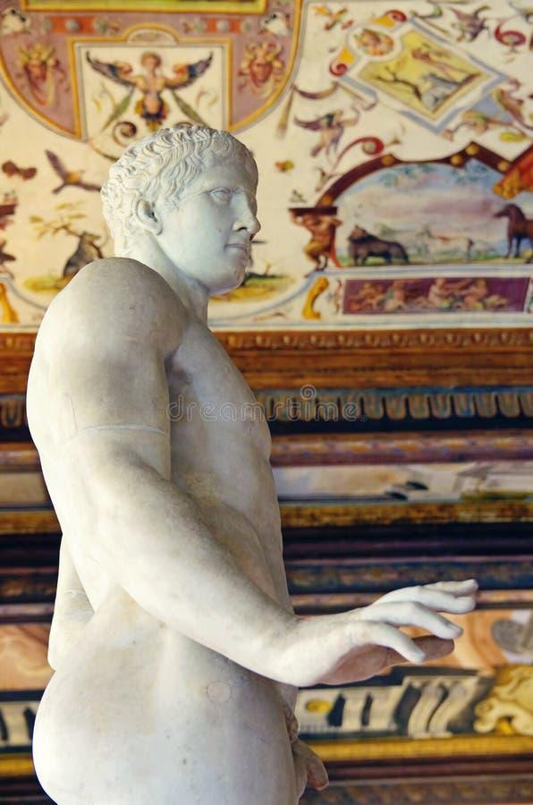 Galeria de Uffizi, Florença, Itália imagem de stock royalty free