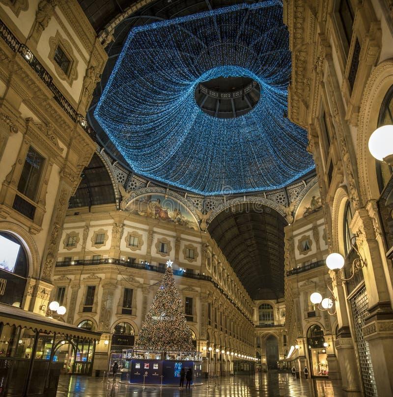 Galeria de Vittorio Emanuele II, Milão foto de stock royalty free