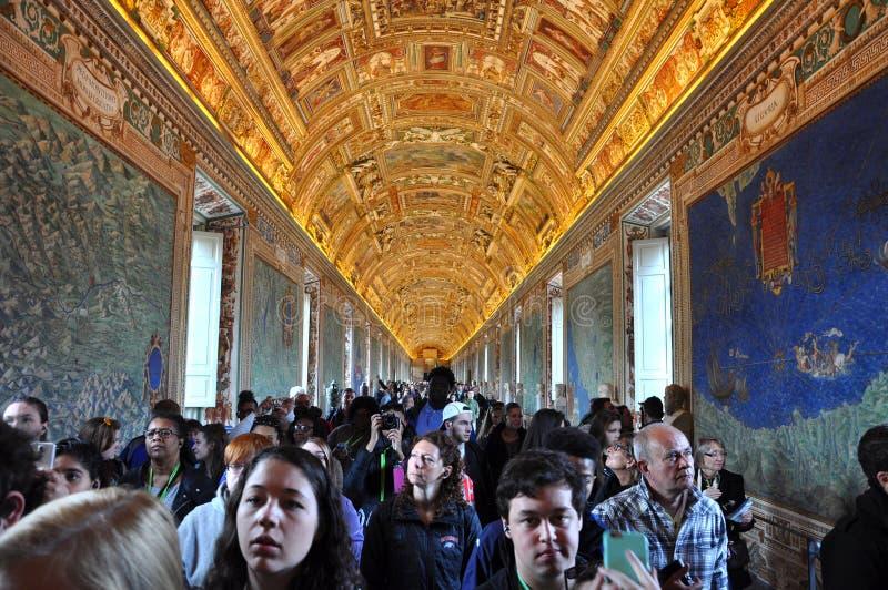 Galeria dos mapas Cidade do Vaticano, Italy imagens de stock
