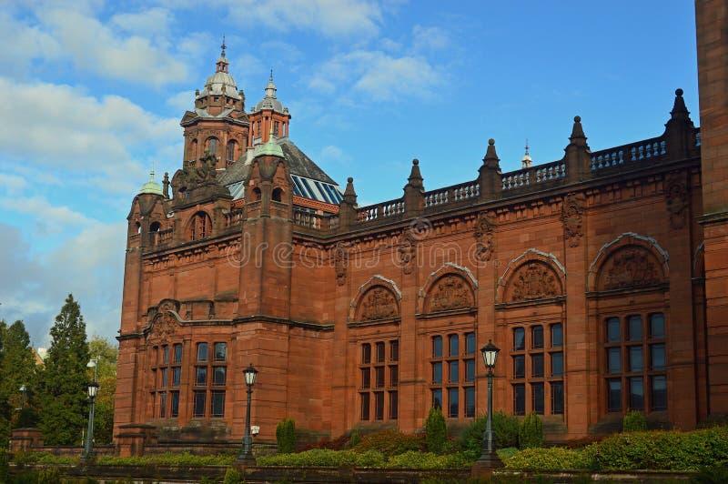 A galeria e o museu de arte de Kelvingrove fotos de stock royalty free