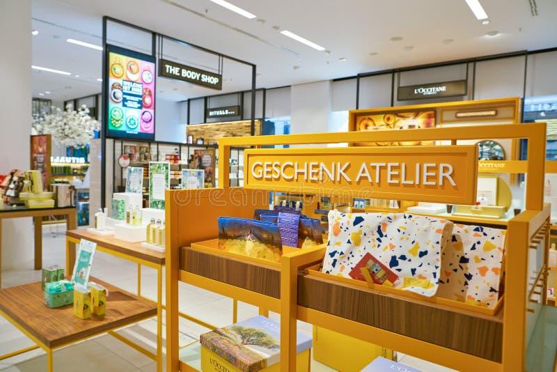 Galeria Kaufhof. DUSSELDORF, GERMANY - CIRCA SEPTEMBER, 2018: interior shot of Galeria Kaufhof in Dusseldorf stock image