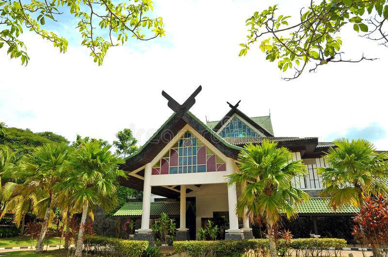 GALERIA PERDANA. Is an attractive museum in Langkawi displaying gifts and mementos received by Prime Minister Tun Dr Mahathir Mohamad stock image