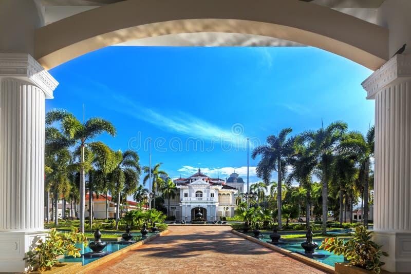 Galeria Sultan Azlan Shah em Kuala Kangsar, Malásia fotos de stock