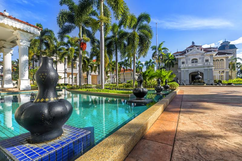 Galeria Sultan Azlan Shah em Kuala Kangsar, Malásia imagem de stock royalty free