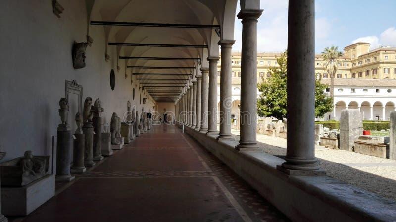 Galeria w Rzym zdjęcia stock