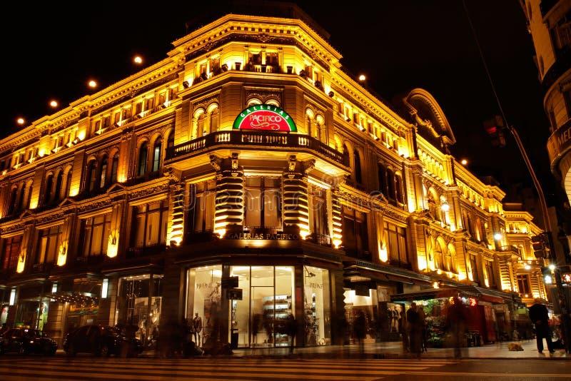 Galerias Pacifico,布宜诺斯艾利斯 免版税图库摄影