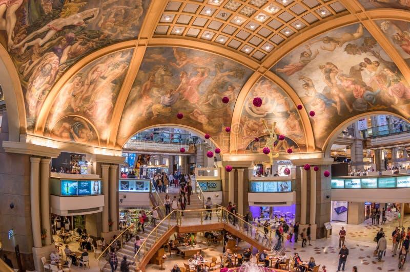 Galerias Pacifico, zakupy centrum handlowe w Buenos Aires, Argentyna obrazy royalty free