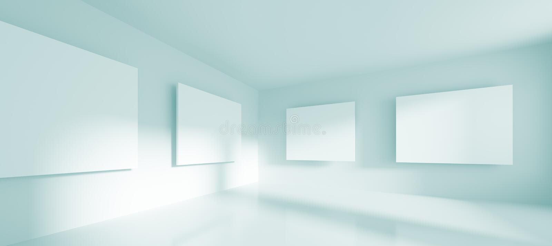 Galerie stock abbildung