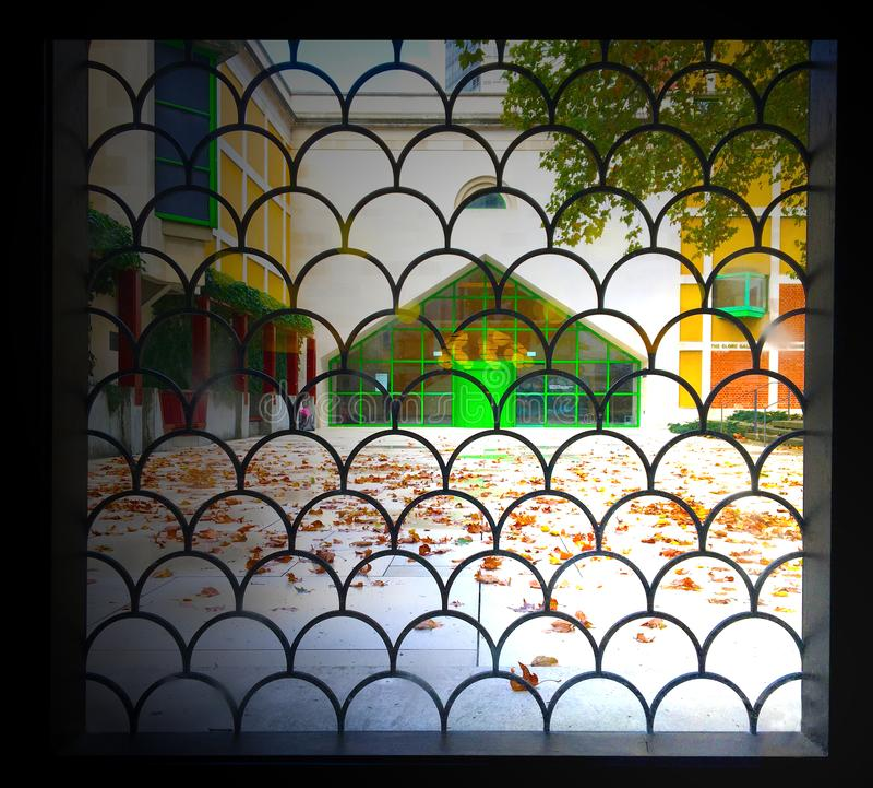 Galerie Clore à Tate Britain photo stock