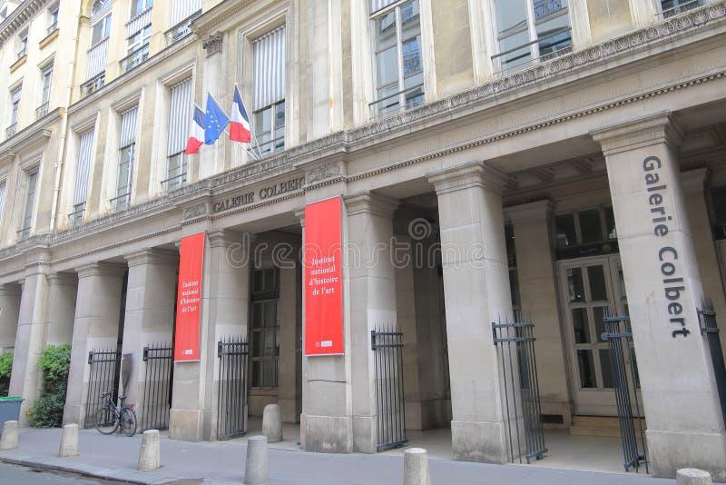 Galerie Colbert galerie marchande Paris France photo stock