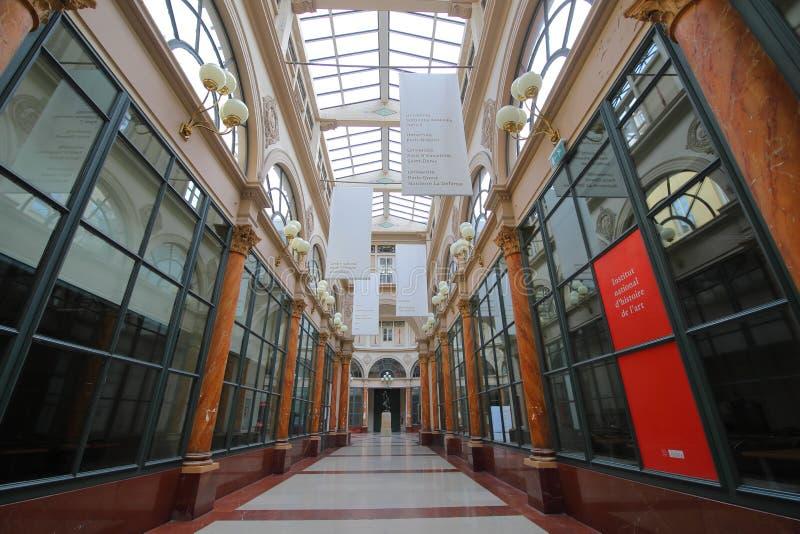 Galerie Colbert galerie marchande Paris France images libres de droits