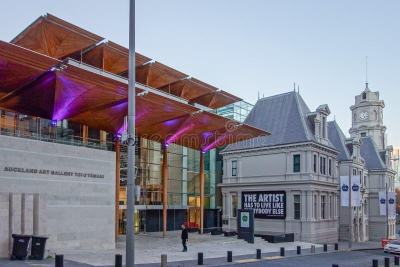 Galerie d'art à Auckland images libres de droits