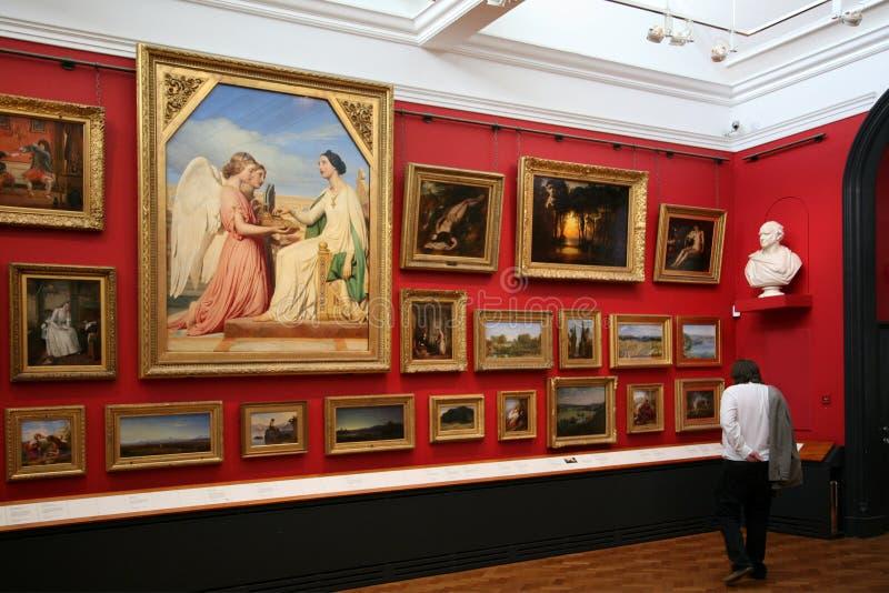 Galerie d'art image libre de droits