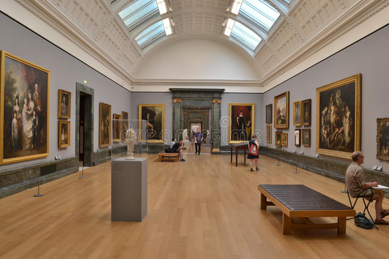 Galerie d'art britannique Tate Britain photographie stock