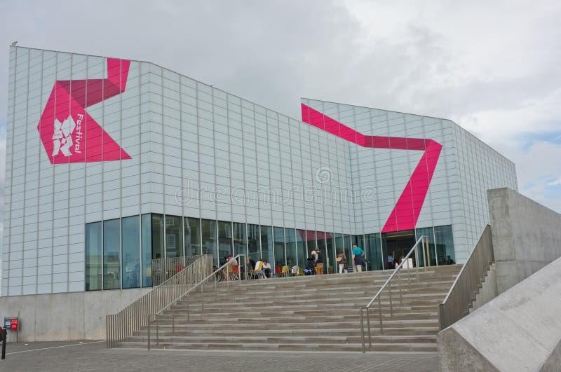 Galerie d'art contemporain de Turner, Margate image stock
