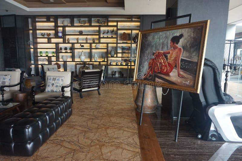 Galerie d'art de Yogyakarta images libres de droits