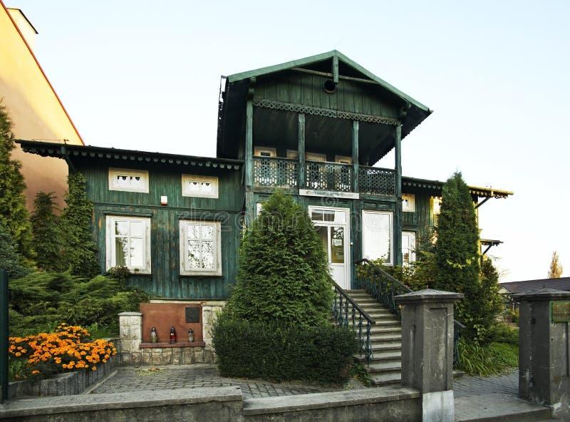 Galerie d'art de Zielona dans Busko-Zdroj poland photo stock