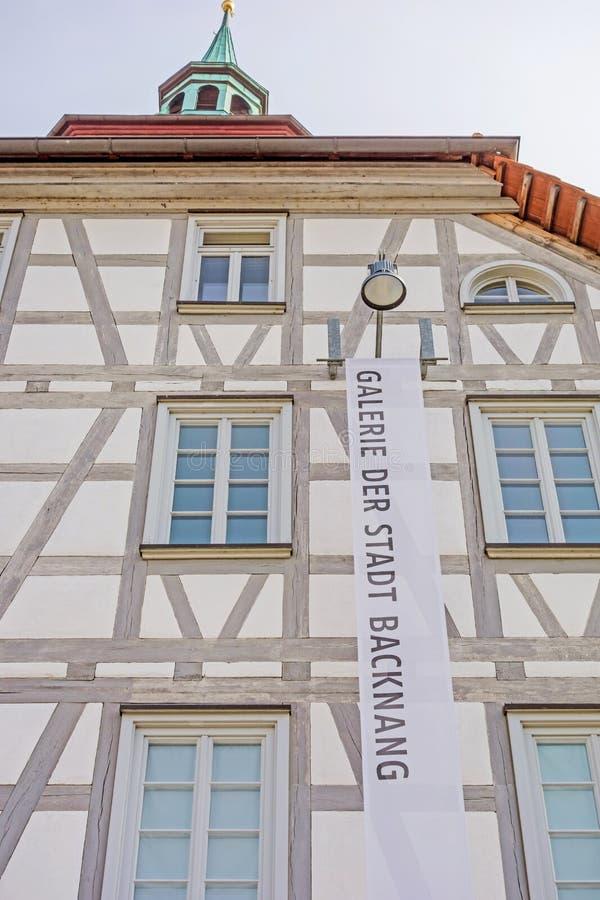 Galerie d'art Helferhaus, Backnang photographie stock libre de droits