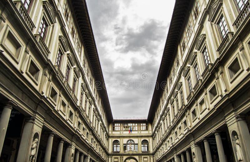 Galerie d'Uffizi à Firenze, Italie image stock