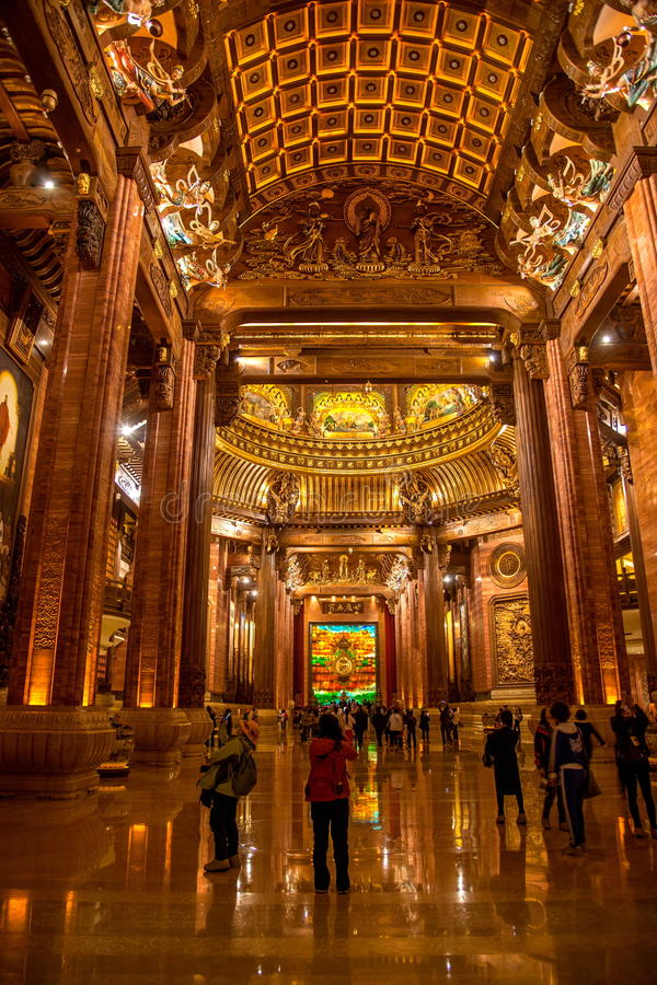 Galerie de palais de Lingshan Vatican images libres de droits
