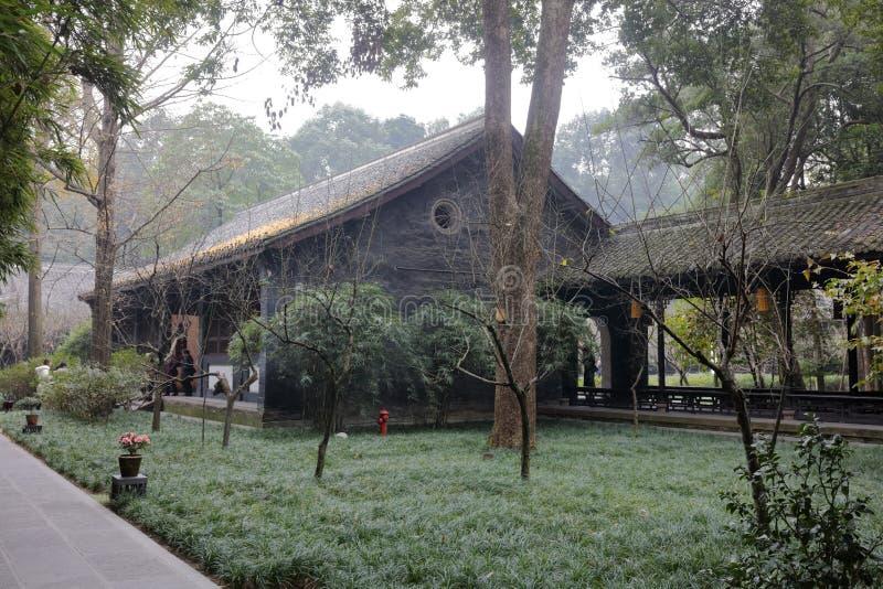 Galerie de temple de wuhouci, adobe RVB photographie stock