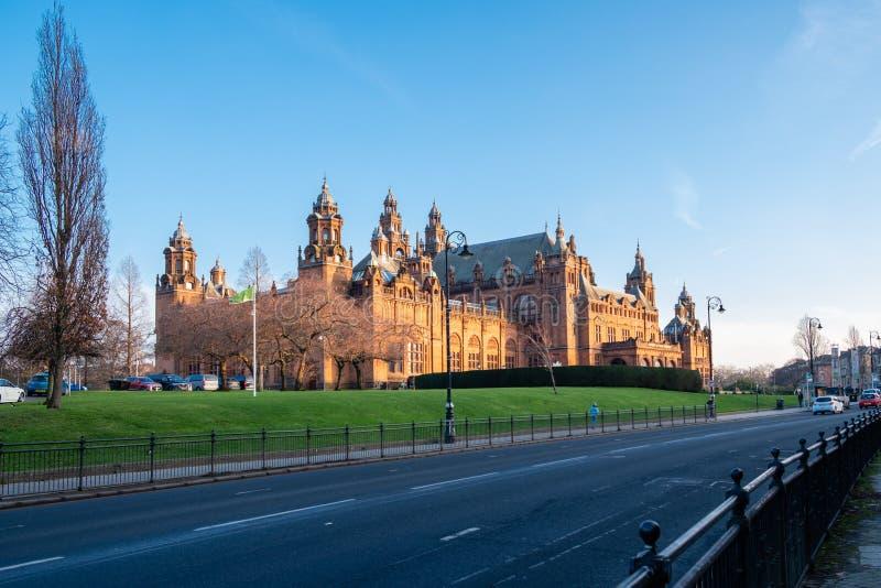 Galerie et musée Glasgow de Kelvingrove photos libres de droits