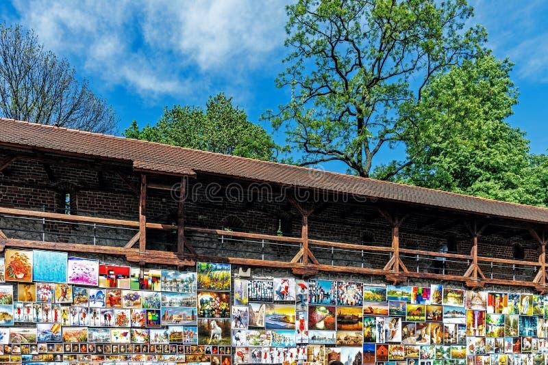 Galerie extérieure de peinture image stock