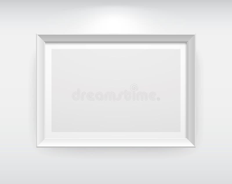 Galerie-Innenraum lizenzfreie abbildung