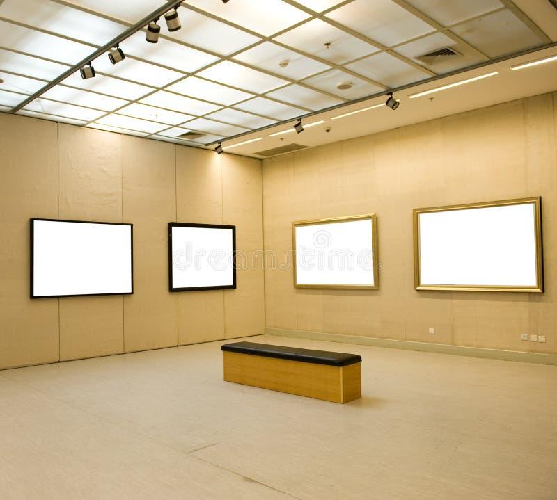 Galerie-Innenraum lizenzfreie stockfotografie