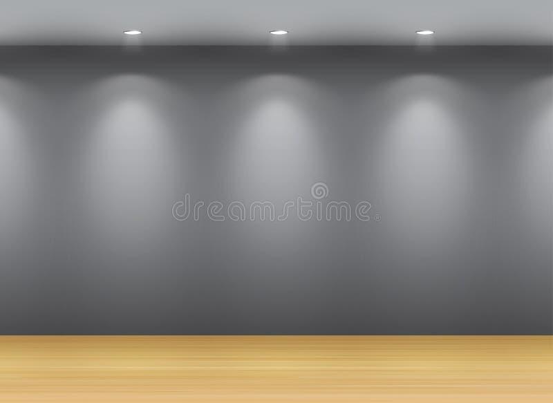 Galerie Interio stock abbildung