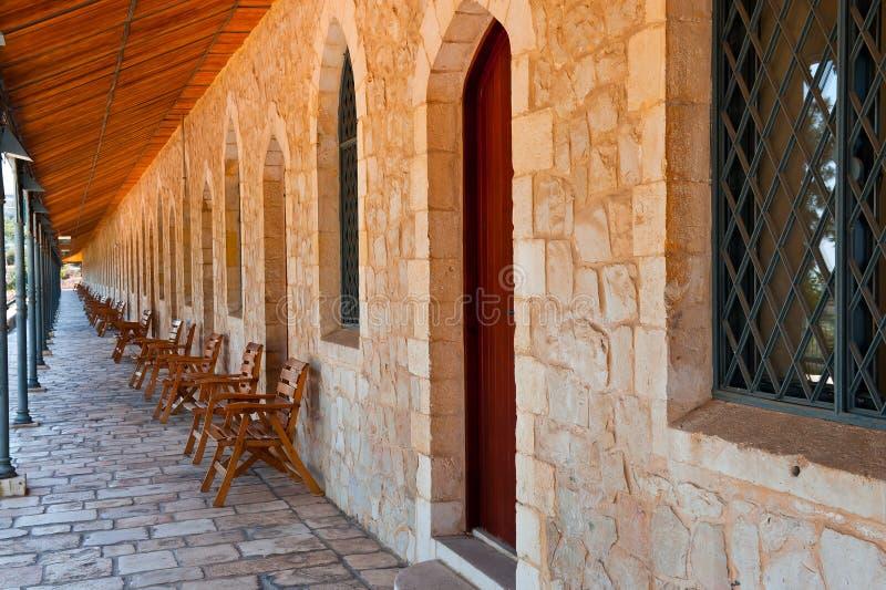 Galerie in Jerusalem lizenzfreies stockbild