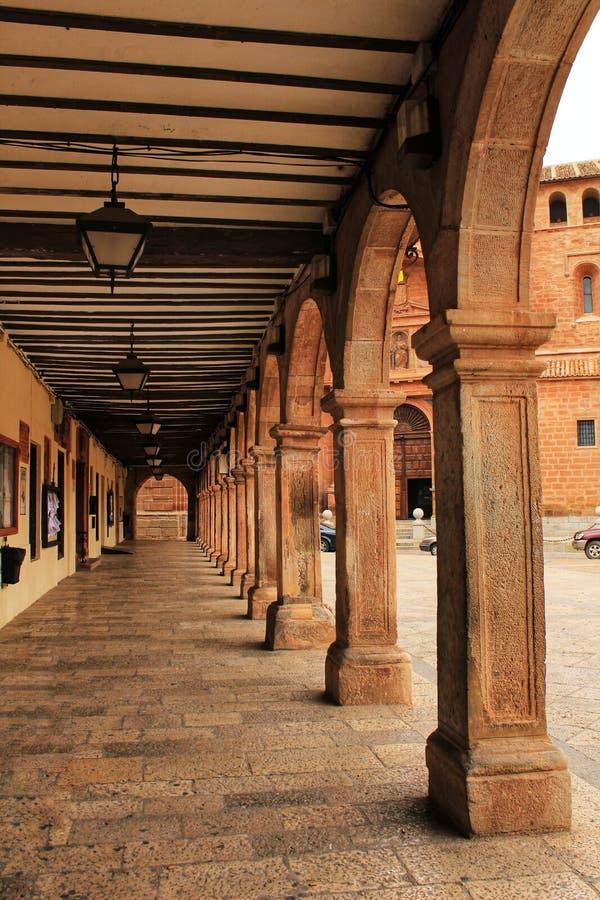 Galerie mit Säulengängen des Renaissancestils lizenzfreie stockfotografie